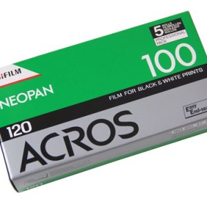 Fujifilm NEOPAN ACROS 100 - 120 (5-pack) MEDIUM format Black & White film