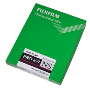 SPECIAL OFFER - FUJICOLOUR PRO 160NS 5x4 inch colour negative film (20-sheet box)-0