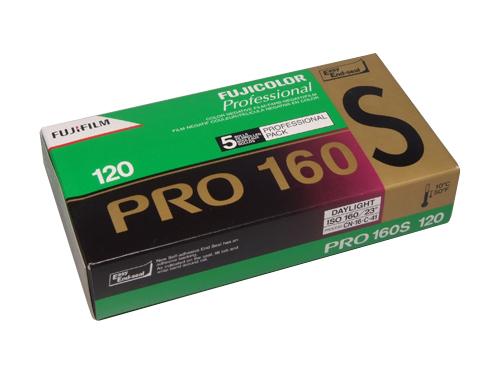 FUJICOLOR PRO 160NS 120 medium format colour neg film (5-pack)-0