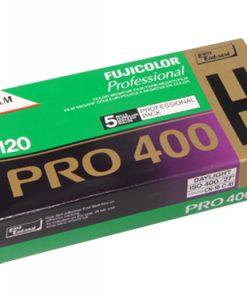 FUJICOLOR PRO 400H 120 medium format colour negative film (5-pack)-0