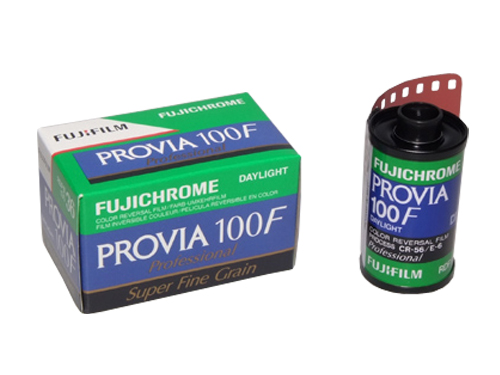 Fujichrome PROVIA 100F 35mm transparency film - 36 exp (10-pack)-0