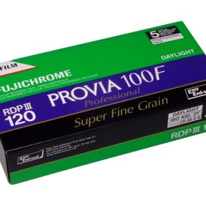 FUJICHROME PROVIA 100F 120 medium format colour transparency film (5-pack)-0