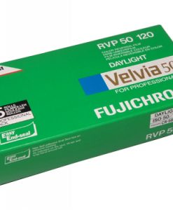 Fuji Velvia 50 120 medium format colour transparency roll film (5-pack)-0