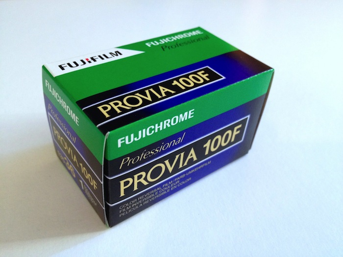 Cheap FUJICHROME PROVIA 100F 35mm 36 exp colour transparency film