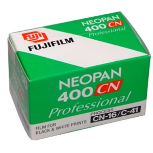 Fujifilm NEOPAN 400CN 35mm - 36 exp Black & White film (10-pack)