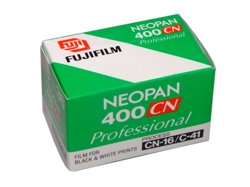 Fujifilm NEOPAN 400CN 35mm Black & White C41 film