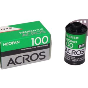 Fujifilm NEOPAN ACROS 100 36 exp black & white film (pack of 10)