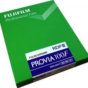 Fujichrome PROVIA 100F 5x4 inch 20-sheets large format colour transparency film