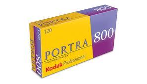 Kodak Porta 800 120 film