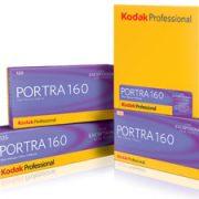 Kodak Portra 160 5x4 inch film