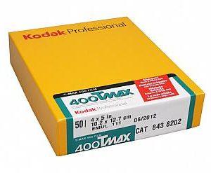 Kodak T-Max 400 5x4 inch
