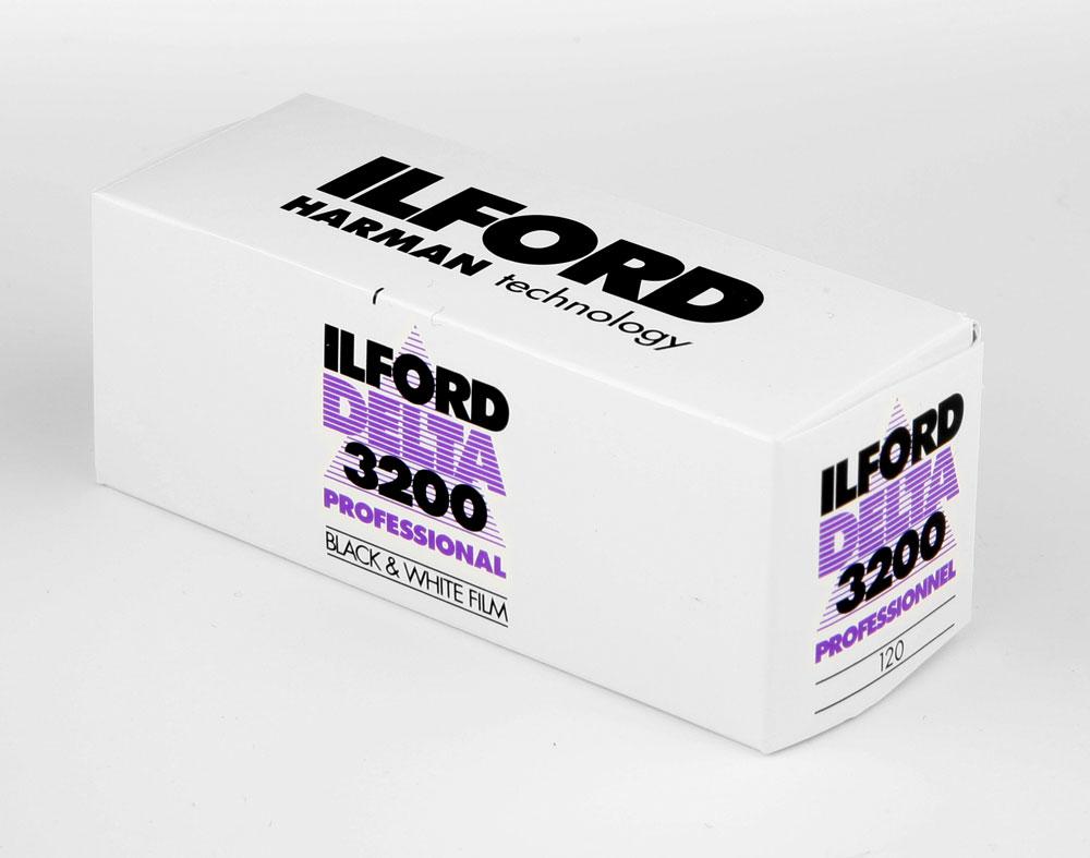 Ilford Delta 3200 120 roll film