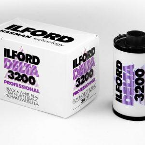 Ilford Delta 3200 35mm film