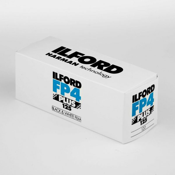 Ilford FP4+ 120 roll film