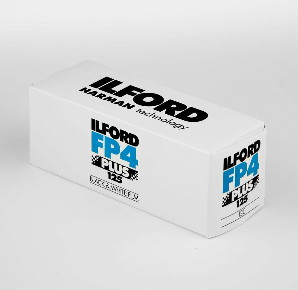 Ilford FP4+ 120 roll film