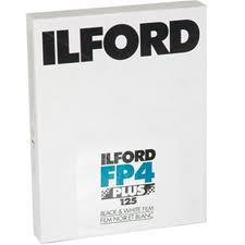 Ilford FP4+ 5x4 sheet film (25 sheets)