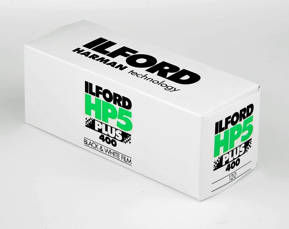 Ilford HP5+ 120 roll film