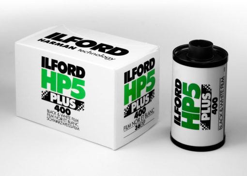 Ilford HP5+ 35mm film
