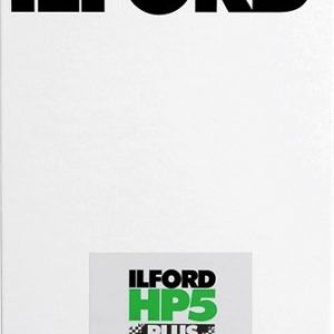 Ilford HP5+ 5x4 sheet film (25 sheets)