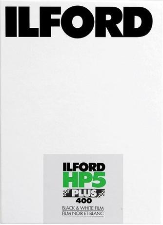 Ilford HP5+ 5x4 sheet film (25 sheets)