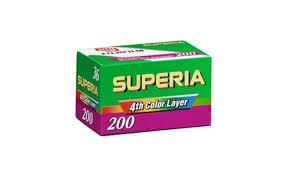 Fujifilm Superia 200 35mm film