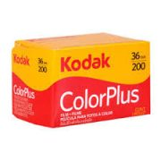 Kodak Color Plus 200 35mm film – 10-pack