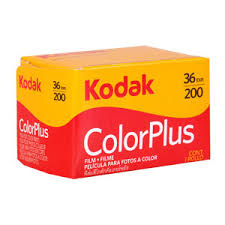 Kodak Color Plus 200 35mm film - 10-pack