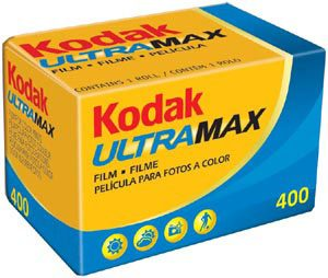 Kodak Ultra Max 400 35mm film 10-pack