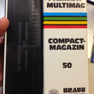 Braun Paximat Multimag Compact Magazine 50