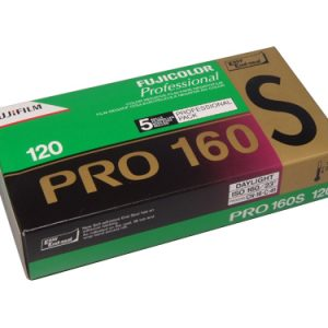 FUJICOLOR PRO 160NS 120 medium format colour neg film (10-pack)-0