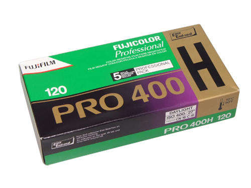 FUJICOLOR PRO 400H 120 medium format colour negative film (10-pack)-0