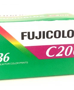 Fujicolor C200 35mm colour neg film