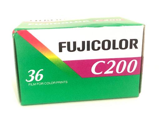 Fujicolor C200 35mm colour neg film